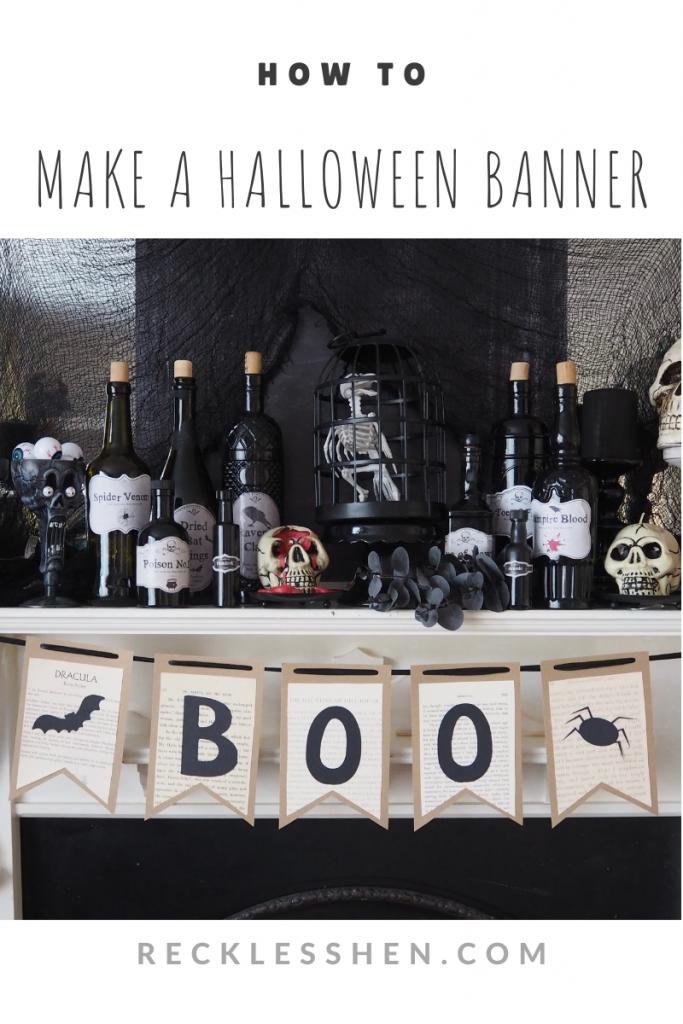 Make a Halloween Banner